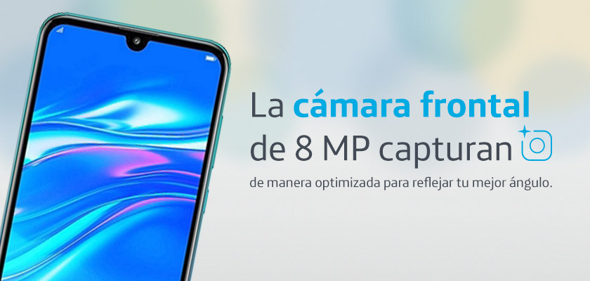 Huawei Y7 2019 Twilight Detalle Producto 2