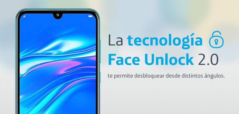 Huawei Y7 2019 Twilight Detalle Producto 3