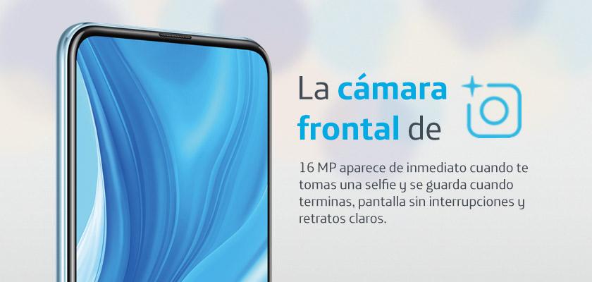 Huawei Y9s Azul Detalle Producto 1