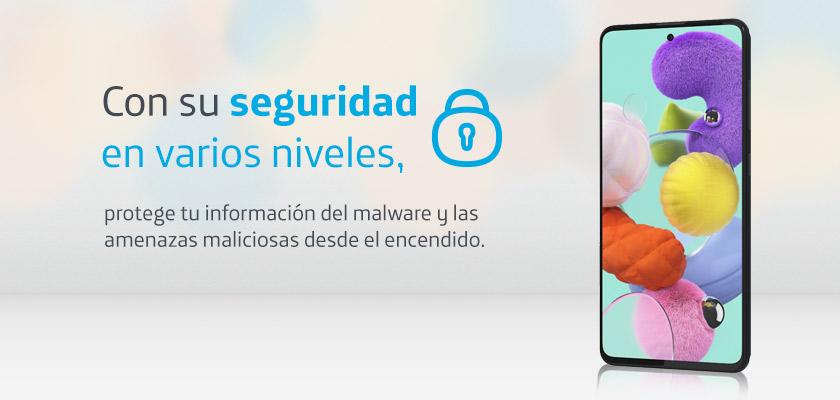 Samsung Galaxy A51 128 GB Blanco Detalle Producto 2