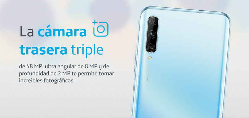 Huawei Y9s Azul Detalle Producto 2