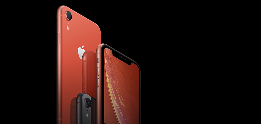 Apple iPhone XR 128 GB Azul Detalle Producto 3