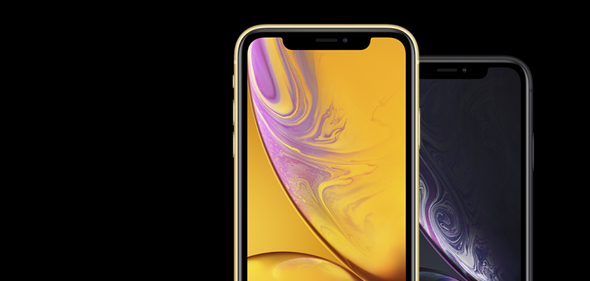 Apple iPhone XR 64 GB Coral Detalle Producto 2