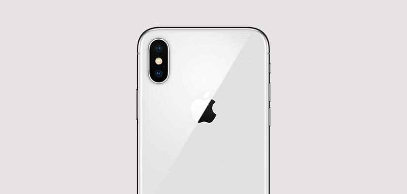 Apple iPhone X 64GB Plata Detalle Producto 3
