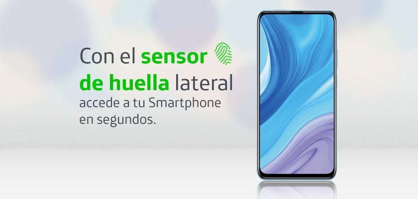 Huawei Y9s Azul Detalle Producto 3