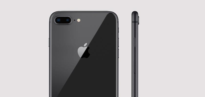 Apple iPhone 8 Plus 64 GB Plata