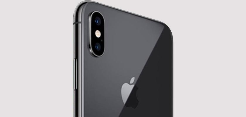 Apple iPhone XS 64 GB Gris Espacial Detalle Producto 3