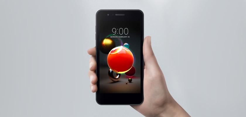 LG K9 16 GB Azul Detalle Producto 2
