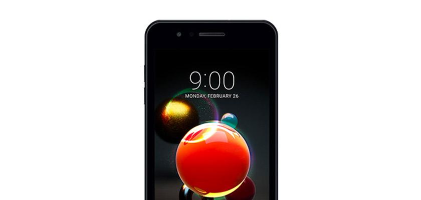 LG K9 16 GB Azul Detalle Producto 1