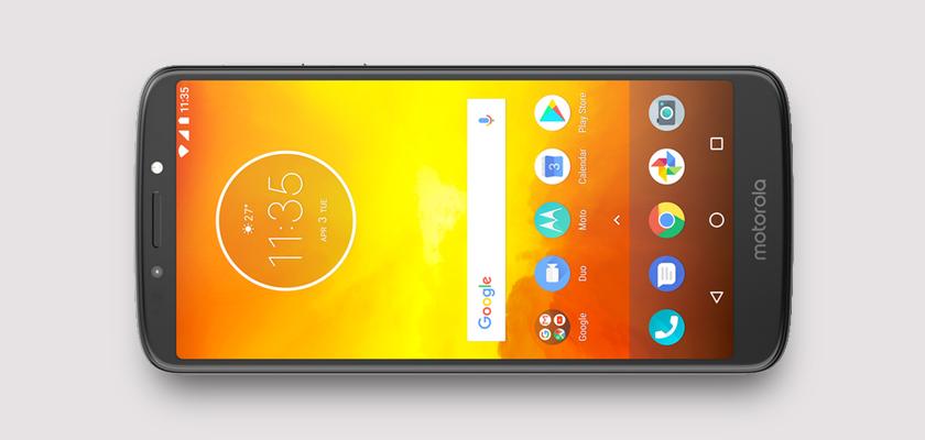 Motorola E5 16 GB Gris Detalle Producto 1