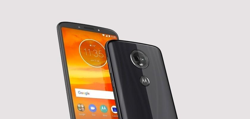 Motorola E5 16 GB Gris Detalle Producto 2
