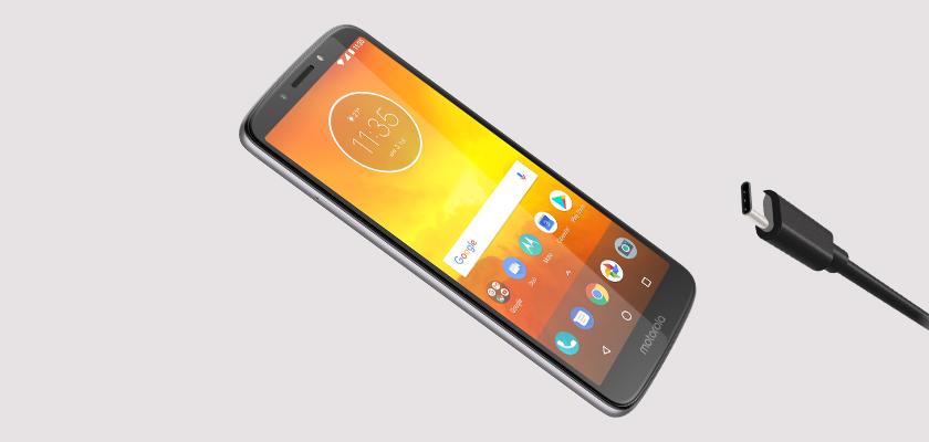 Motorola E5 16 GB Dorado Detalle Producto 3
