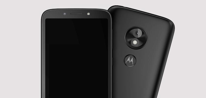 Motorola E5 Play 16 GB Negro Detalle Producto 2