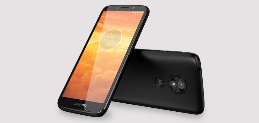 Motorola E5 Play 16 GB Negro Detalle Producto 3