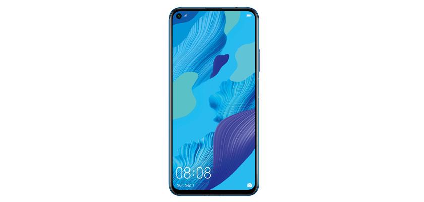 Huawei Nova 5T 128GB Azul detalle producto 2
