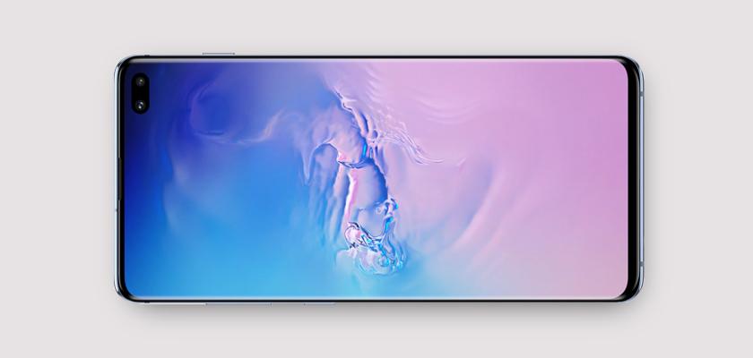 Samsung Galaxy S10+ 128 GB Blanco Detalle Producto 2