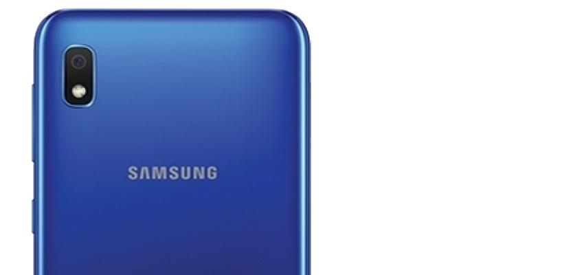 Samsung Galaxy A10 32 GB Negro Detalle Producto 1
