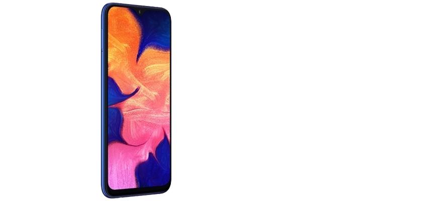 Samsung Galaxy A10 32 GB Azul Detalle Producto 2