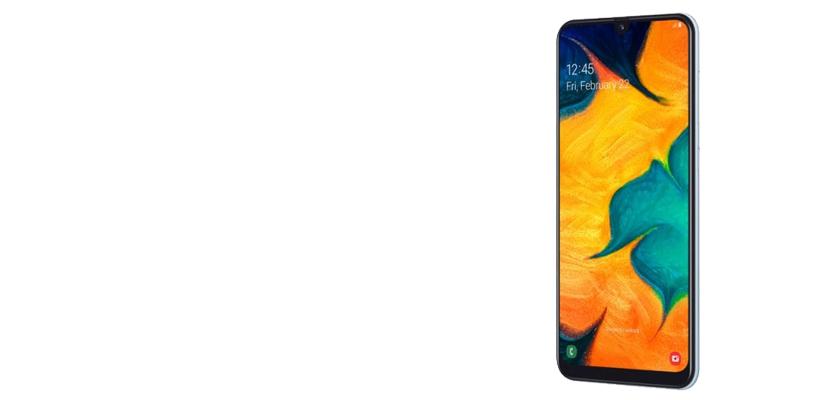 Samsung Galaxy A30 32 GB Azul Detalle Producto 1