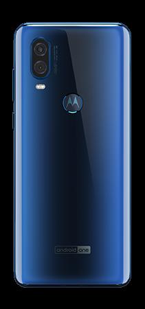 Motorola One Vision 128 GB Azul - Trasera