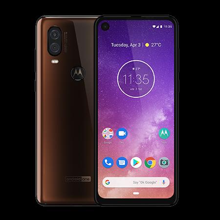 Motorola One Vision 128 GB Moka - Doble