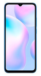 Xiaomi Redmi 9A 32 GB Azul Frontal