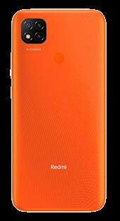 Xiaomi Redmi 9C 32 GB Naranja Trasera