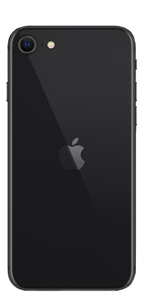 Apple iPhone SE 128 GB Negro Trasera
