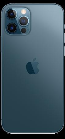 Apple iPhone 12 Pro 128 GB Azul Pacífico Trasera