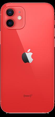 Apple iPhone 12 64GB Rojo Trasera
