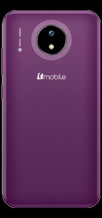 Bmobile B50 32 GB Violeta Trasera
