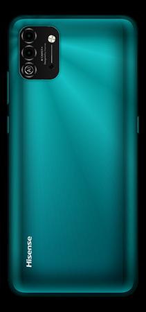 Hisense E50 Lite 32 GB Verde Trasera