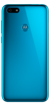 Motorola E6 Play 32 GB Azul Trasera