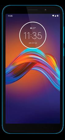Motorola E6 Play 32 GB Azul Frontal