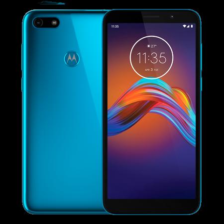 Motorola E6 Play 32 GB Azul Doble