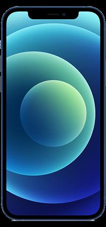 Apple iPhone 12 64GB Azul Frontal