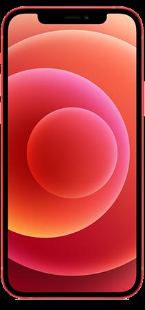 Apple iPhone 12 64GB Rojo Frontal