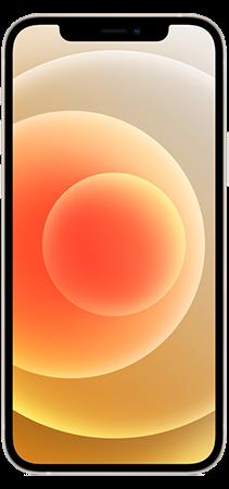Apple iPhone 12 64GB Blanco Frontal