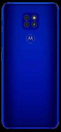 Moto G9 Play 64 GB Azul Electrico Trasera