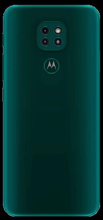 Moto G9 Play 64 GB Verde Evergreen Trasera