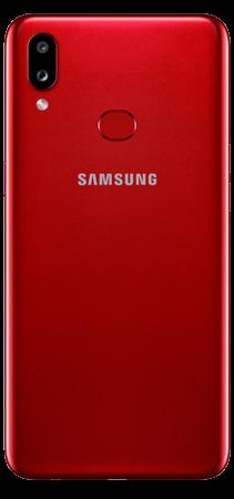 Samsung Galaxy A10s 32 GB Rojo Trasera