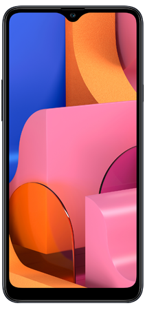 Samsung Galaxy A20s 32 GB Negro Frontal