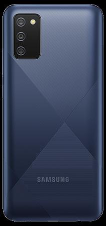 Samsung Galaxy A02s 64 GB Azul Trasera