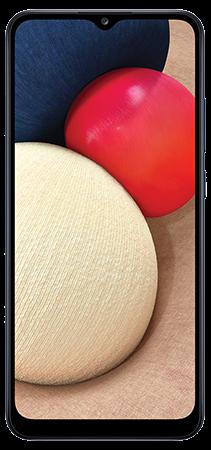 Samsung Galaxy A02s 64 GB Azul Frontal