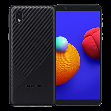 Samsung Galaxy A01 Core 32 GB Negro Doble