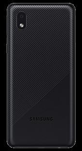 Samsung Galaxy A01 Core 16 GB Negro Trasera