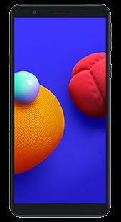 Samsung Galaxy A01 Core 16 GB Negro Frontal