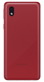Samsung Galaxy A01 Core 32 GB Rojo Trasera