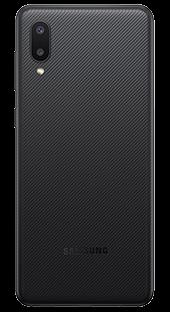 Samsung Galaxy A02 32 GB Negro Trasera
