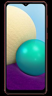 Samsung Galaxy A02 32 GB Rojo Frontal